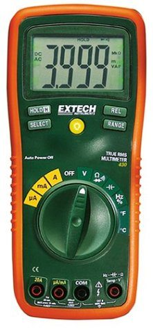 Extech EX430 True RMS Autoranging Multimeter
